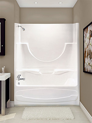 Acrylic One Piece Tub Shower. One Piece Bathtub Shower Manufacturers ONE PIECE BATHTUB SHOWER  Bathroom Design